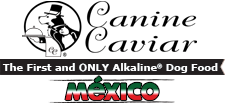 Canine Caviar Mexico Logo with Slogan - Canine Caviar Pet Foods Inc.